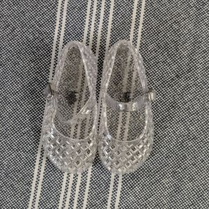 Old Navy Clear Jellies Size 6